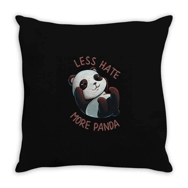 Less Hate Throw Pillow | Artistshot