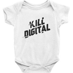 kill digital Baby Bodysuit | Artistshot