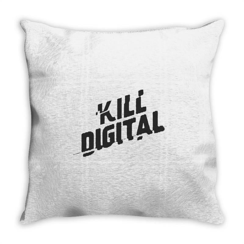 Kill Digital Throw Pillow | Artistshot