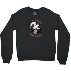 less hate Crewneck Sweatshirt | Artistshot