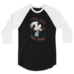 less hate 3/4 Sleeve Shirt | Artistshot
