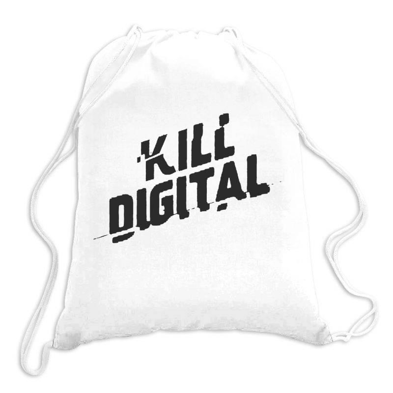 Kill Digital Drawstring Bags   Artistshot