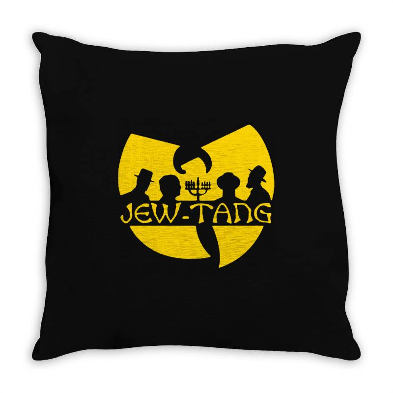 Jew Tang Clan Throw Pillow | Artistshot