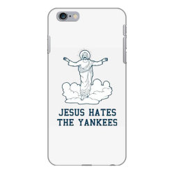jesus hates the yankees iPhone 6 Plus/6s Plus Case | Artistshot