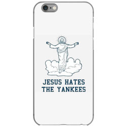 jesus hates the yankees iPhone 6/6s Case | Artistshot