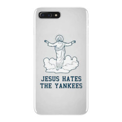 jesus hates the yankees iPhone 7 Plus Case | Artistshot