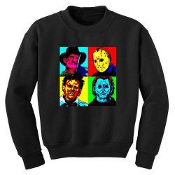 horror squad Youth Sweatshirt | Artistshot