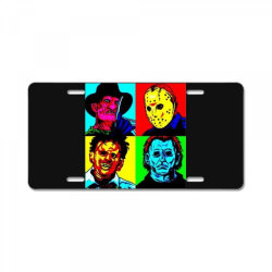 horror squad License Plate | Artistshot
