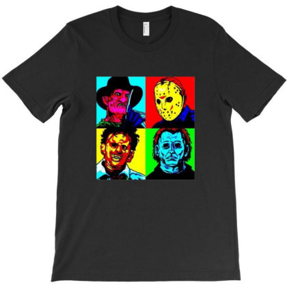 Horror Squad T-shirt Designed By Gudry