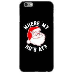 ho ho ho christmas iPhone 6/6s Case | Artistshot