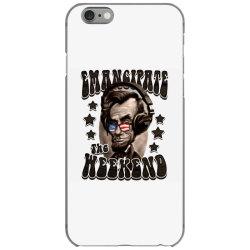 honest abe emancipate the weekend iPhone 6/6s Case   Artistshot