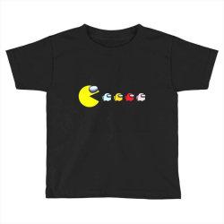 eat the ghost saboteurs among us Toddler T-shirt | Artistshot