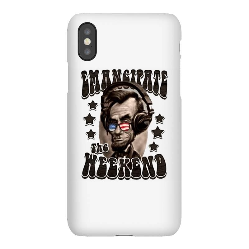 Honest Abe Emancipate The Weekend Iphonex Case   Artistshot