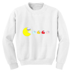 eat the ghost saboteurs among us Youth Sweatshirt | Artistshot