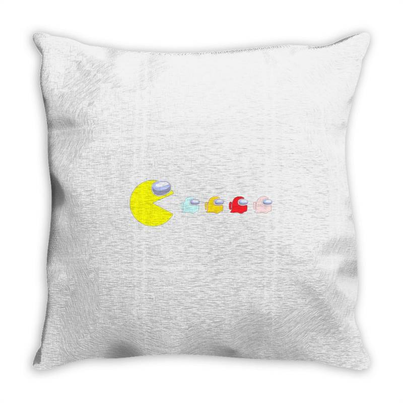 Eat The Ghost Saboteurs Among Us Throw Pillow | Artistshot