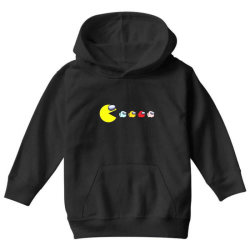 eat the ghost saboteurs among us Youth Hoodie | Artistshot