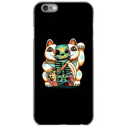 lucky cat skull iPhone 6/6s Case | Artistshot