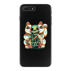 lucky cat skull iPhone 7 Plus Case | Artistshot
