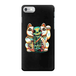 lucky cat skull iPhone 7 Case | Artistshot