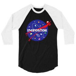 impostor nasa 3/4 Sleeve Shirt | Artistshot