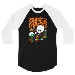 super mario bros ghost 1964 3/4 Sleeve Shirt | Artistshot