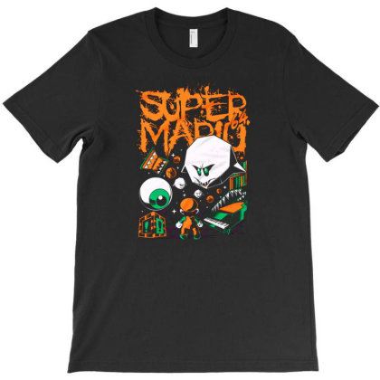 Super Mario Bros Ghost 1964 T-shirt Designed By Kamal Mardhiyah