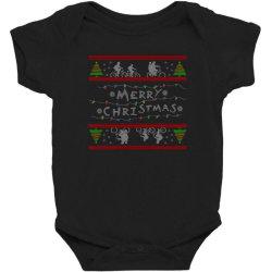 stranger christmas Baby Bodysuit   Artistshot