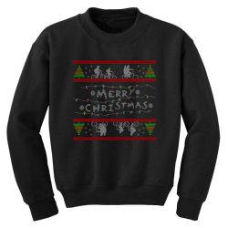 stranger christmas Youth Sweatshirt   Artistshot