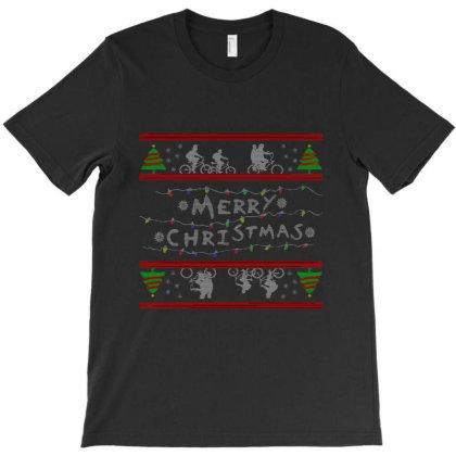 Stranger Christmas T-shirt Designed By Ernando