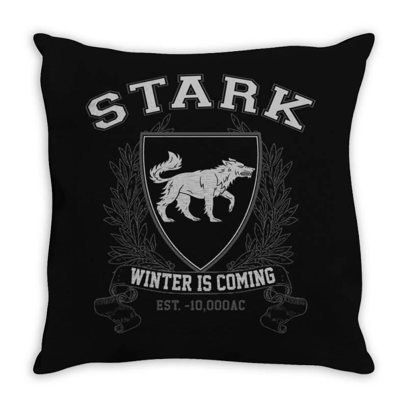 Stark University Throw Pillow | Artistshot