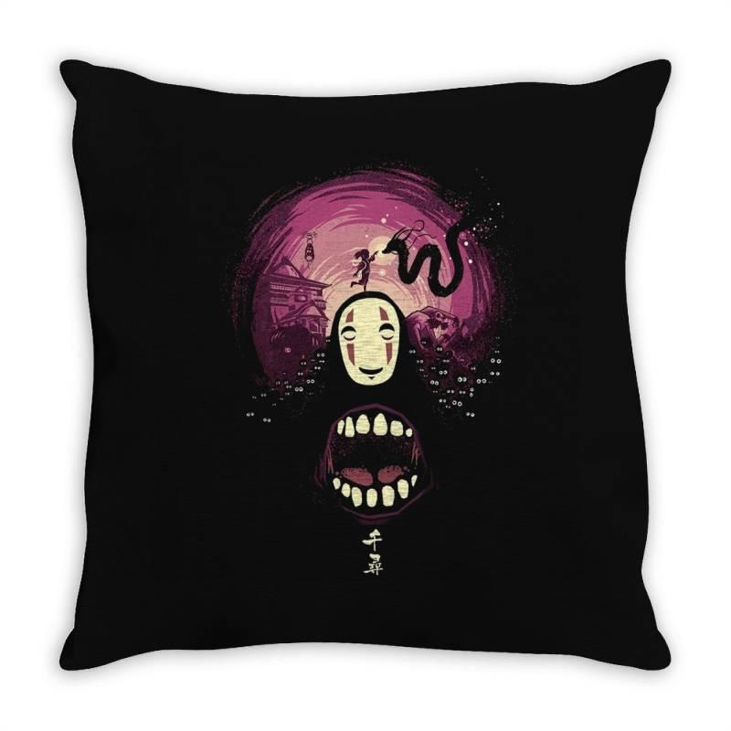 Spirit's Nightmare Throw Pillow | Artistshot