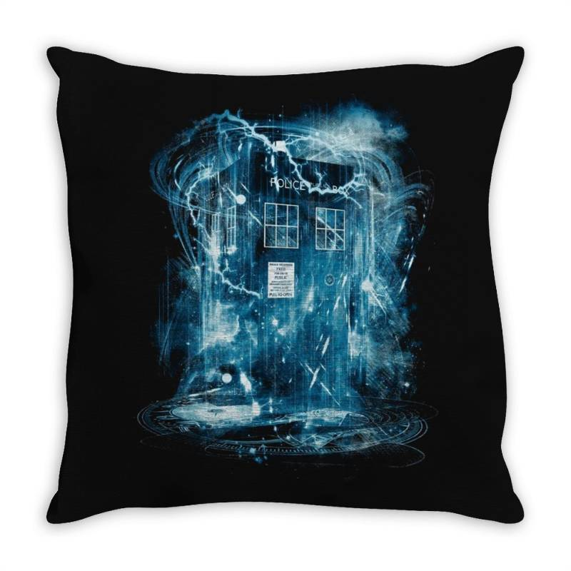 Space And Time Storm Throw Pillow | Artistshot