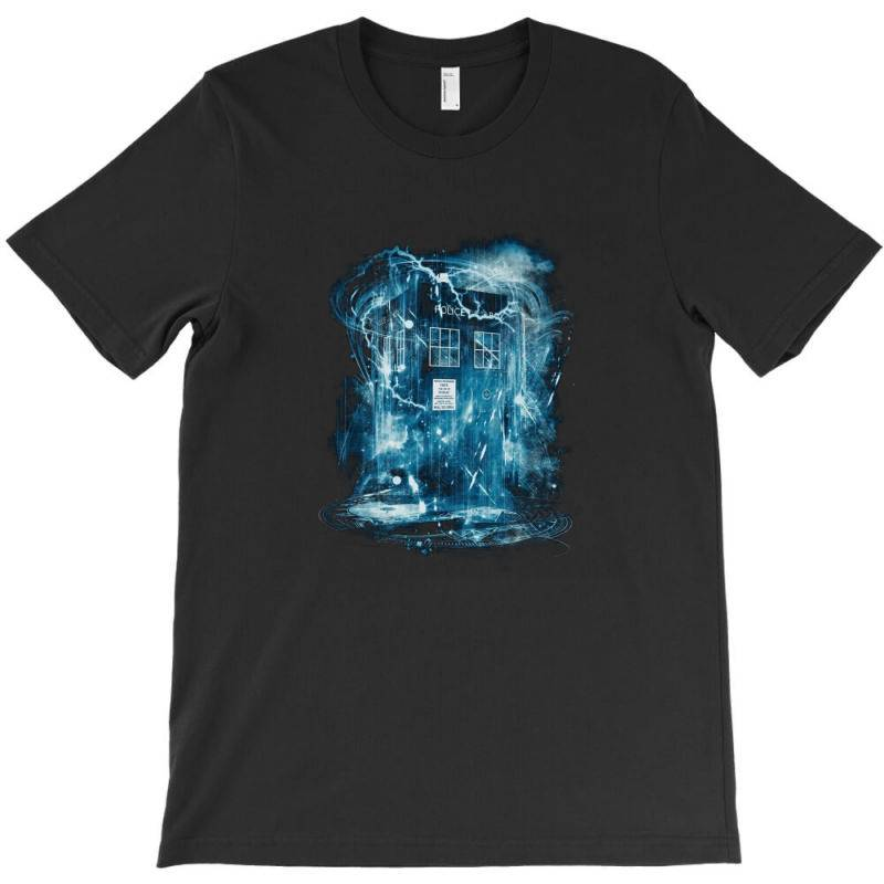 Space And Time Storm T-shirt | Artistshot