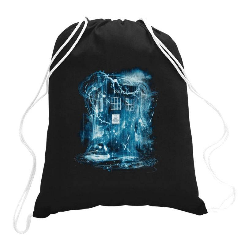 Space And Time Storm Drawstring Bags   Artistshot