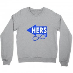 us till infinity hers Crewneck Sweatshirt | Artistshot