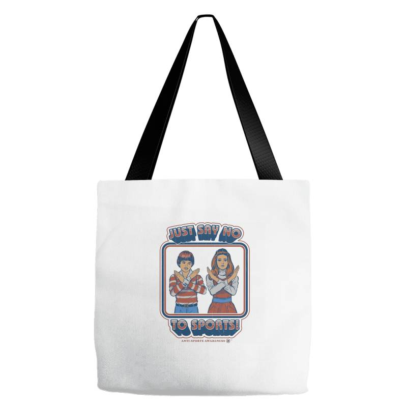 Just Say No To Sports Tote Bags | Artistshot