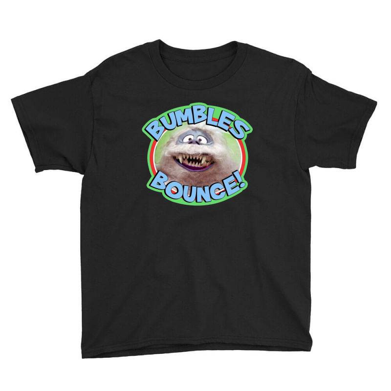 Rudolph The Red Nose Reindeer 'bumbles Bounce Youth Tee   Artistshot