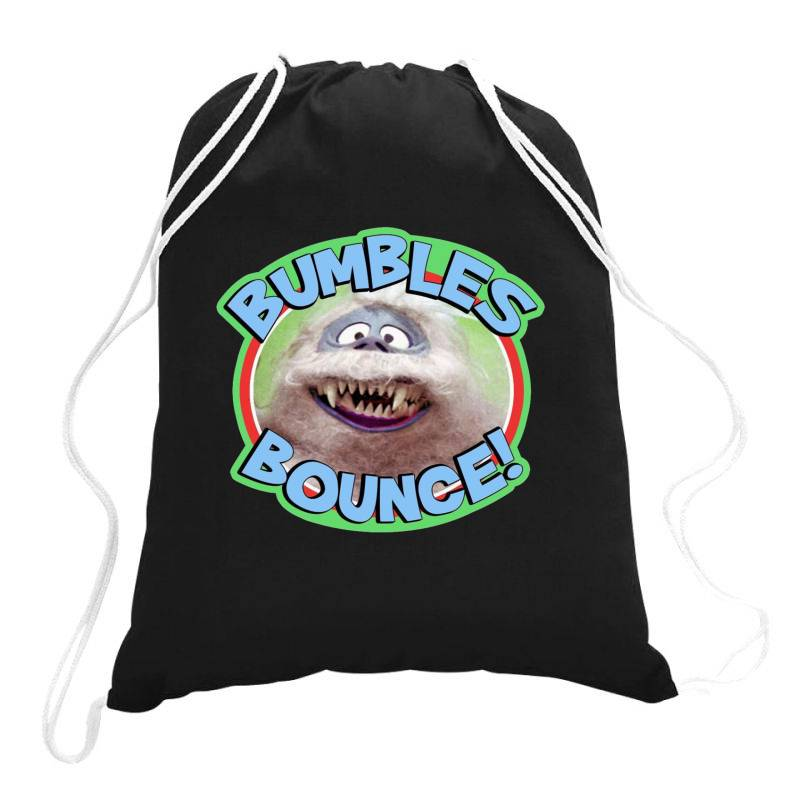 Rudolph The Red Nose Reindeer 'bumbles Bounce Drawstring Bags | Artistshot