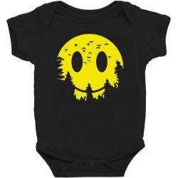 Smiley moon Baby Bodysuit | Artistshot