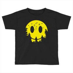 Smiley moon Toddler T-shirt | Artistshot