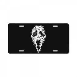 Ghost Face Bats License Plate | Artistshot