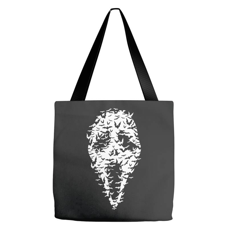 Ghost Face Bats Tote Bags | Artistshot