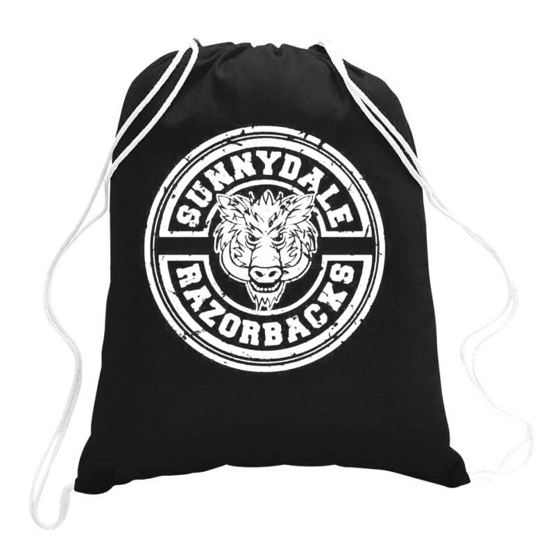 Sunnydale Razorbacks Drawstring Bags | Artistshot