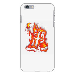 fiery eclipse skull cross iPhone 6 Plus/6s Plus Case | Artistshot