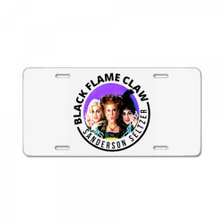 black flame claw sanderson License Plate | Artistshot