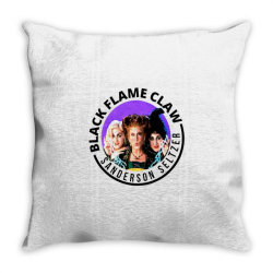 black flame claw sanderson Throw Pillow | Artistshot