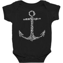 Anchor Bones Baby Bodysuit | Artistshot