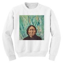 sitting bull Youth Sweatshirt | Artistshot
