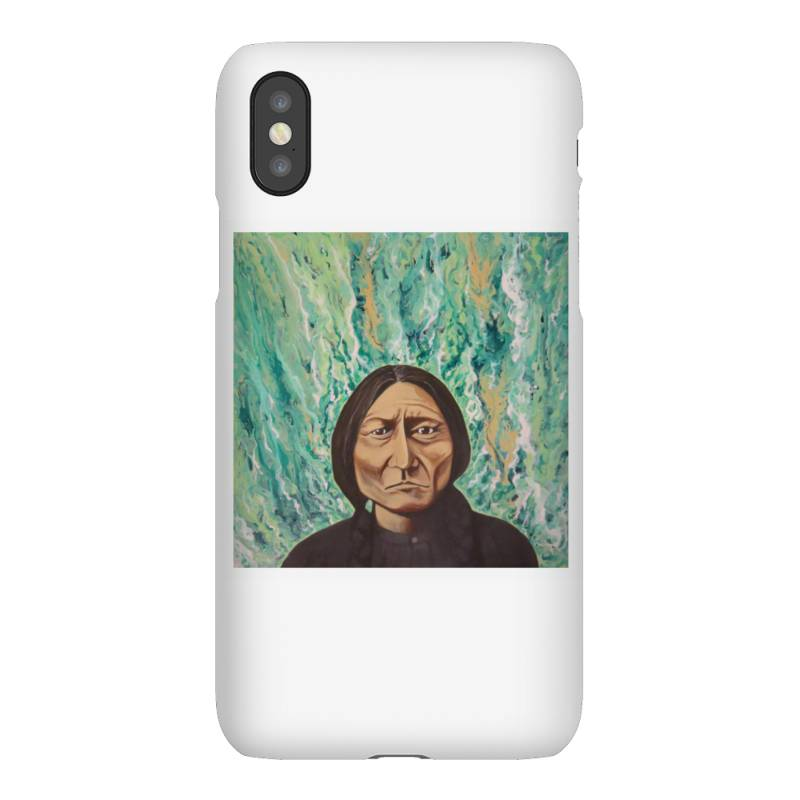 Sitting Bull Iphonex Case   Artistshot