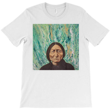 Sitting Bull T-shirt Designed By Ifa Uyainah